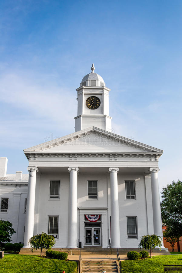 Tribunale a Lexington Missouri immagine stock libera da diritti