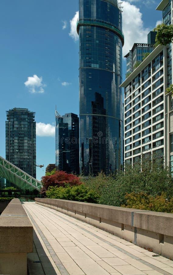 Tribunale, Vancouver BC, il Canada fotografie stock