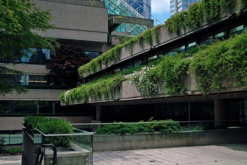 Tribunale, Vancouver BC, il Canada immagini stock