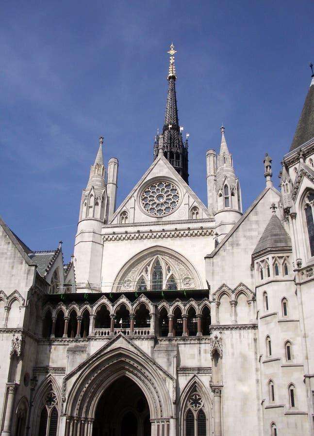 Tribunales de Justicia reales fotos de archivo
