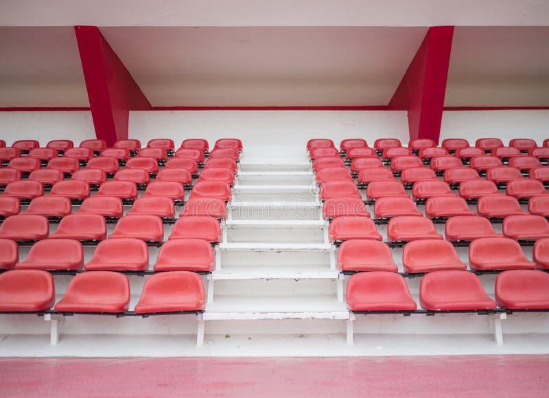 Tribunestadion royalty-vrije stock afbeeldingen