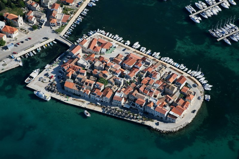 Tribunj Croatia royalty free stock images