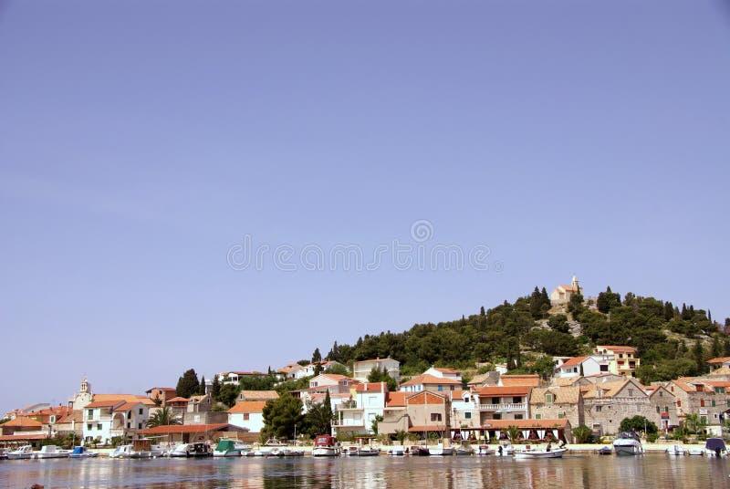 Tribunj, Kroatië stock afbeelding