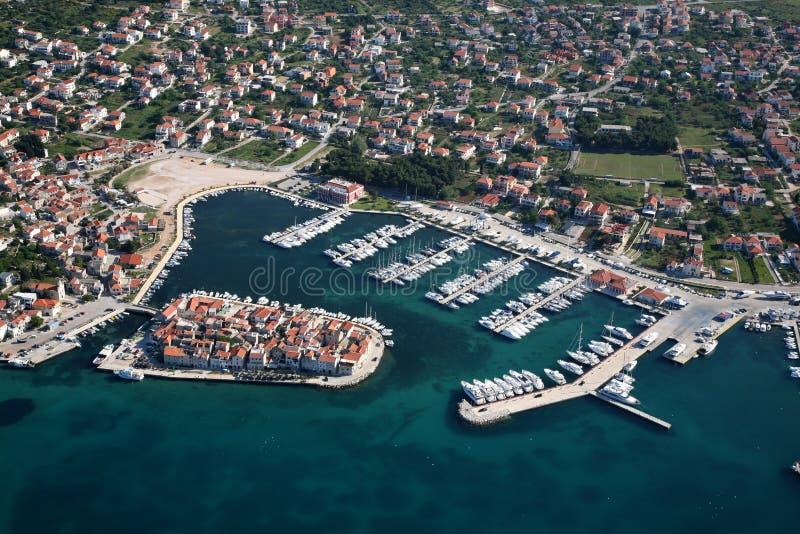 Tribunj Kroatien lizenzfreie stockfotografie