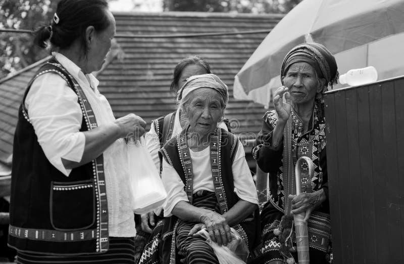 Tribus de colline en Thaïlande image libre de droits