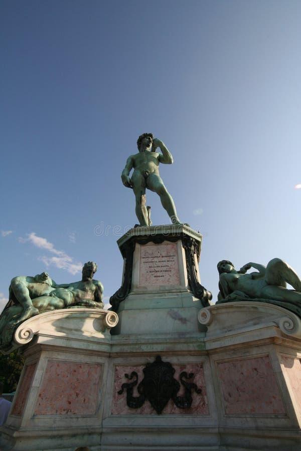 Tribut zu Michelangelo lizenzfreie stockfotos