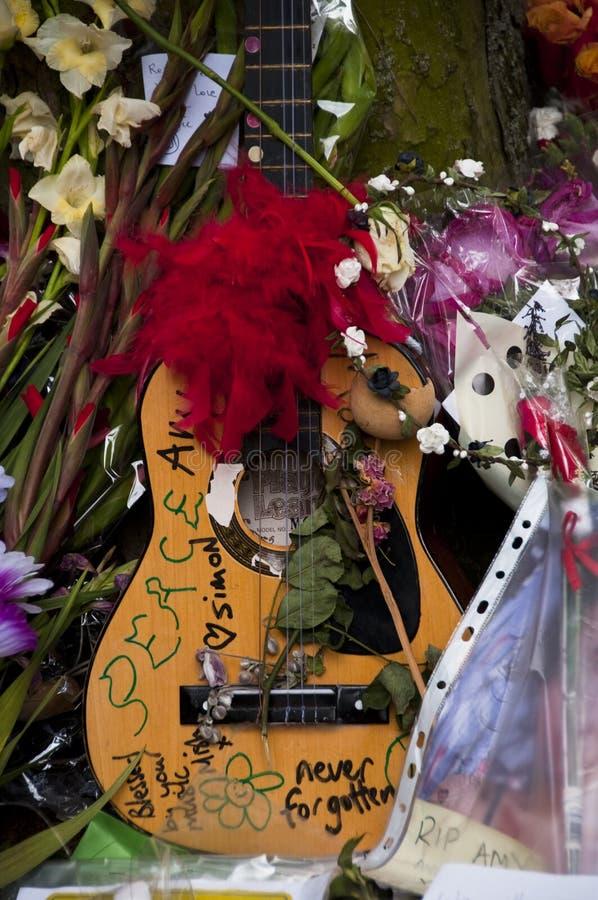 Tribut Zum Amy Winehouse Redaktionelles Foto