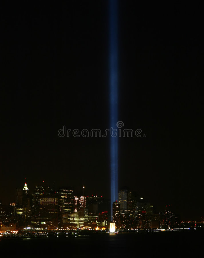 Tribute in Lights stock photos
