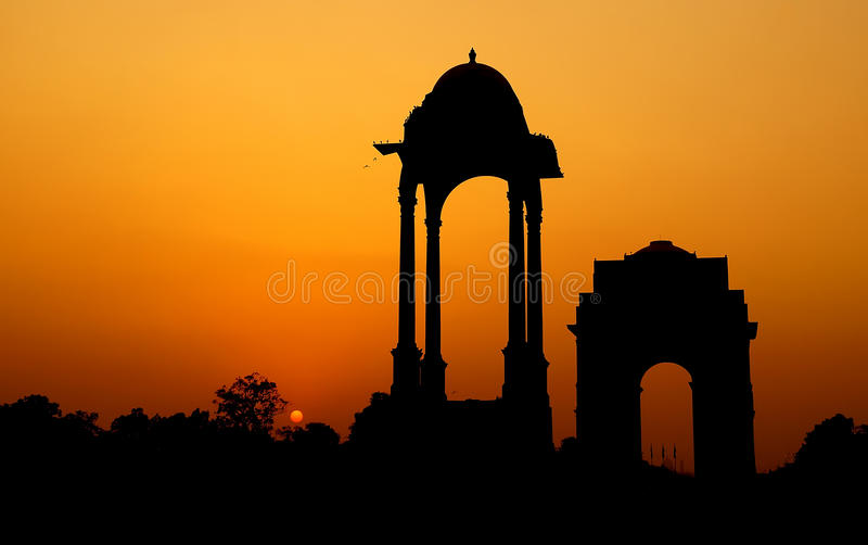 Tribute to the Martyrs stock photography