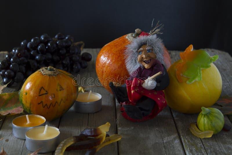 Tribute von Halloween stockbilder