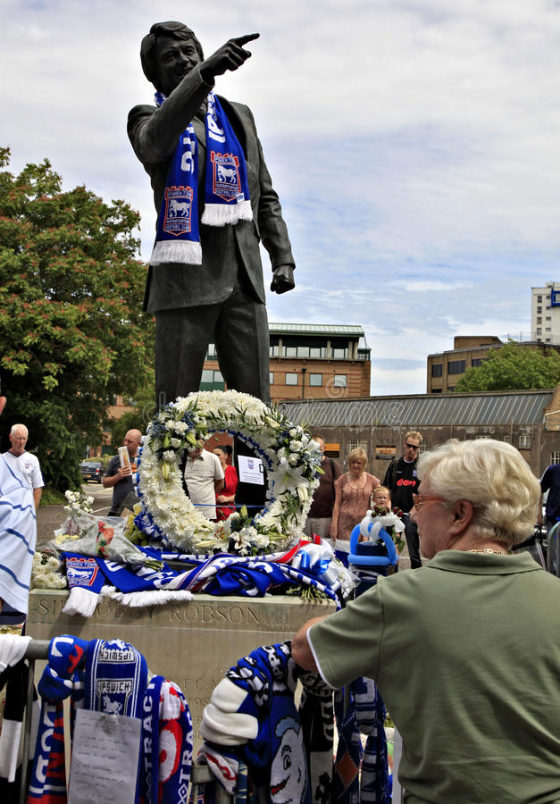 Tributes To Bobby Robson Editorial Photography