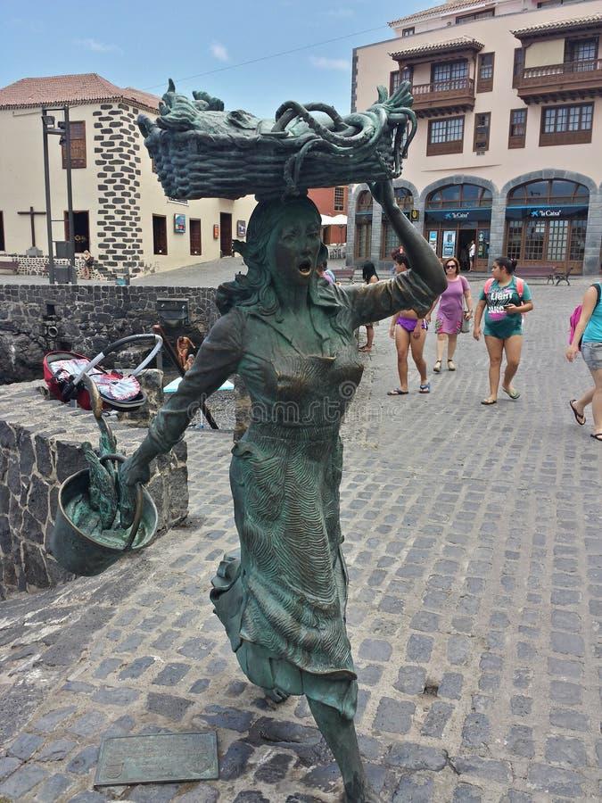 Tributo de la escultura a OSPREY imagen de archivo libre de regalías