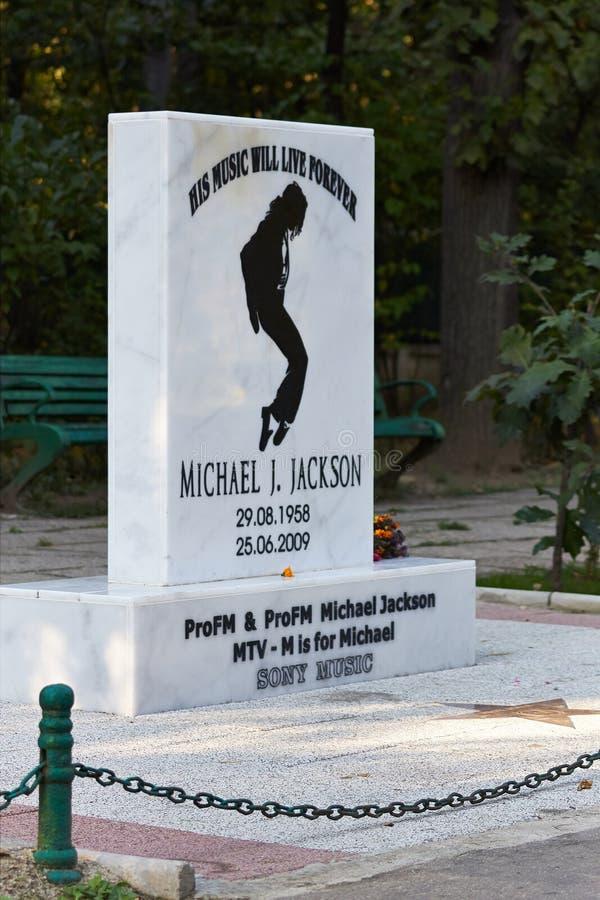 Tributo del Michael Jackson fotografie stock