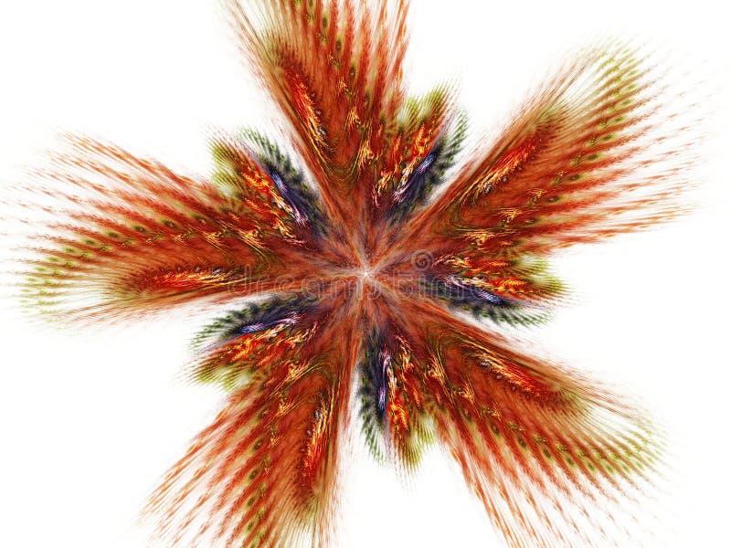 Tributo floral ilustração do vetor