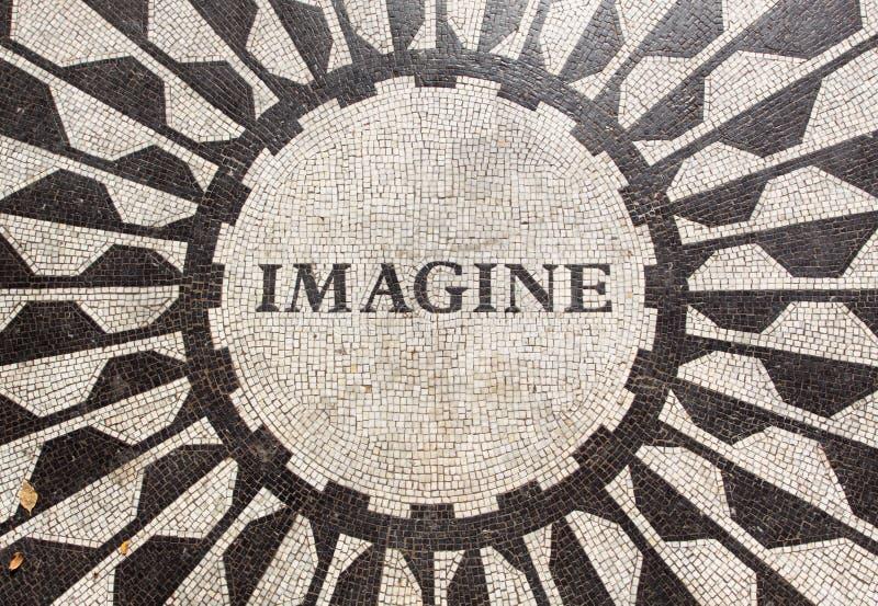 Tributo a John Lennon imagem de stock royalty free