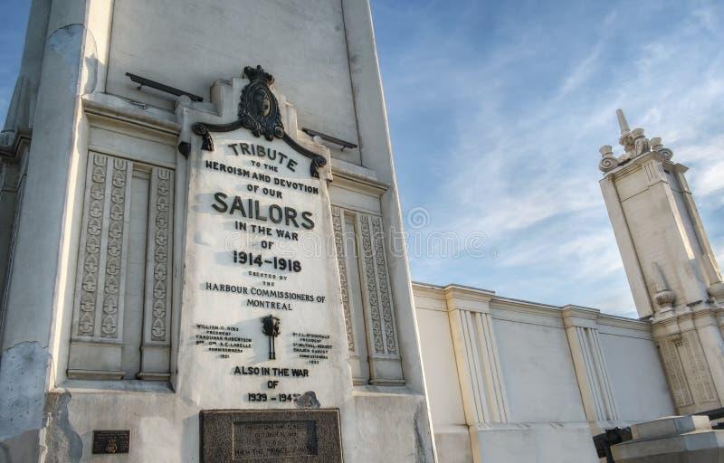 Tributo velho da torre de pulso de disparo de nossos marinheiros fotos de stock