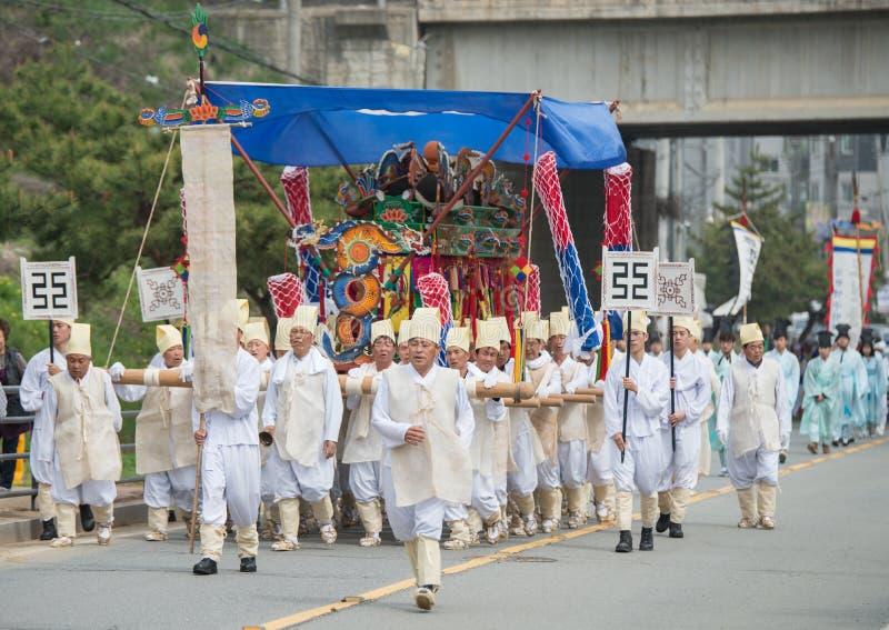 Tributos, eventos tradicionales de la Corea del Sur para el difunto imagen de archivo libre de regalías