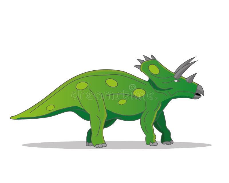 Triceratop 向量例证
