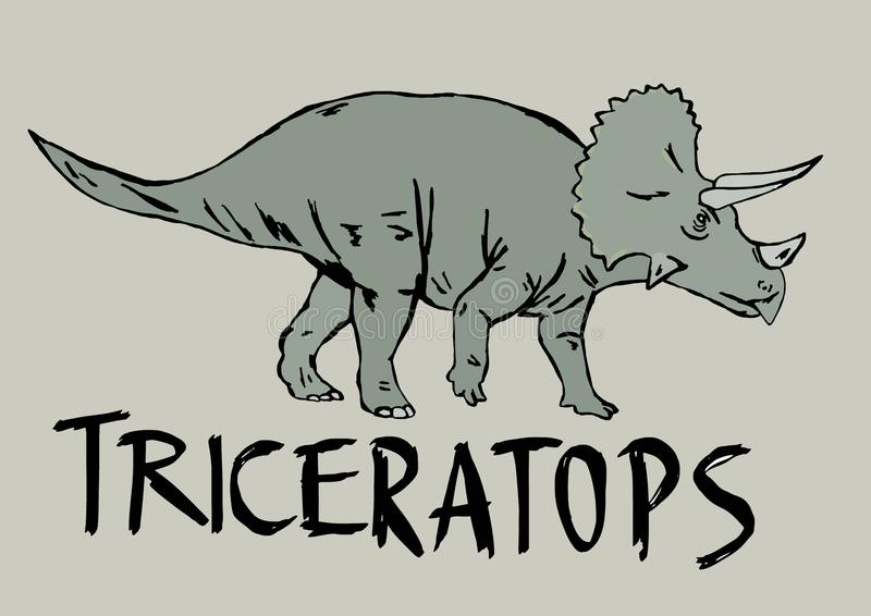 triceratops libre illustration