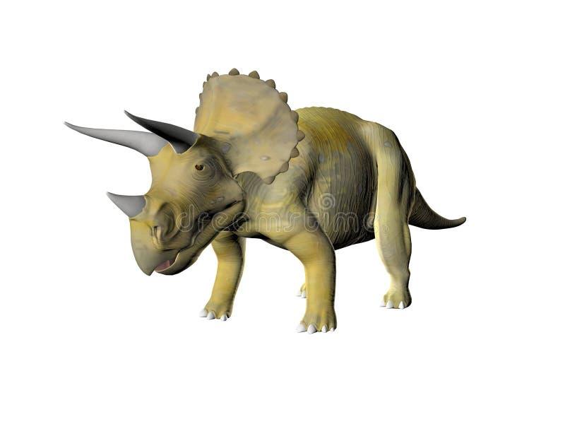 Triceratops illustration stock