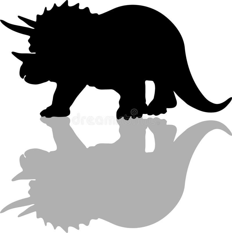 Triceratops stock de ilustración