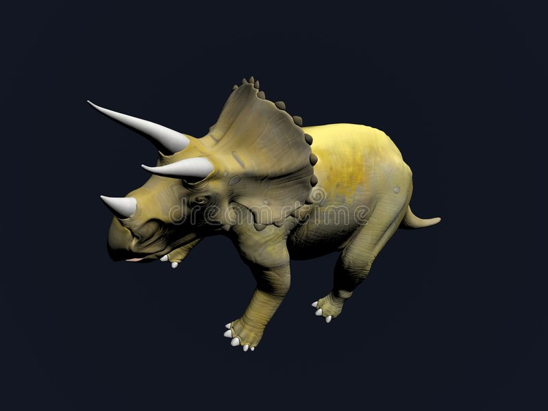 Download Triceratops stock illustration. Image of giant, jurassic - 7682726