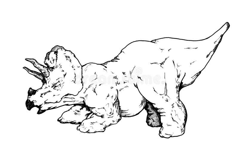 Download Triceratops stock illustration. Illustration of flinstones - 7846789