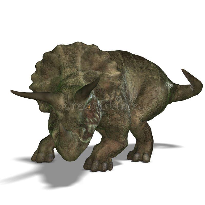 triceratops de dinosaur illustration libre de droits