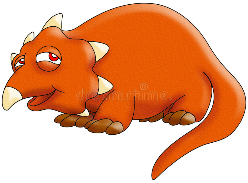 Download Triceratops dinosaur stock illustration. Image of triceratops - 7530733