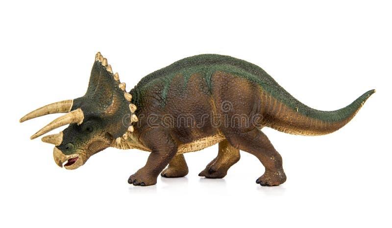 Triceratopsdinosaurussen herbivores royalty-vrije illustratie