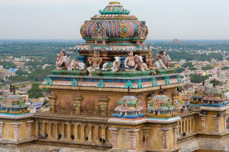 Trichy en Tamil Nadu, la India fotos de archivo