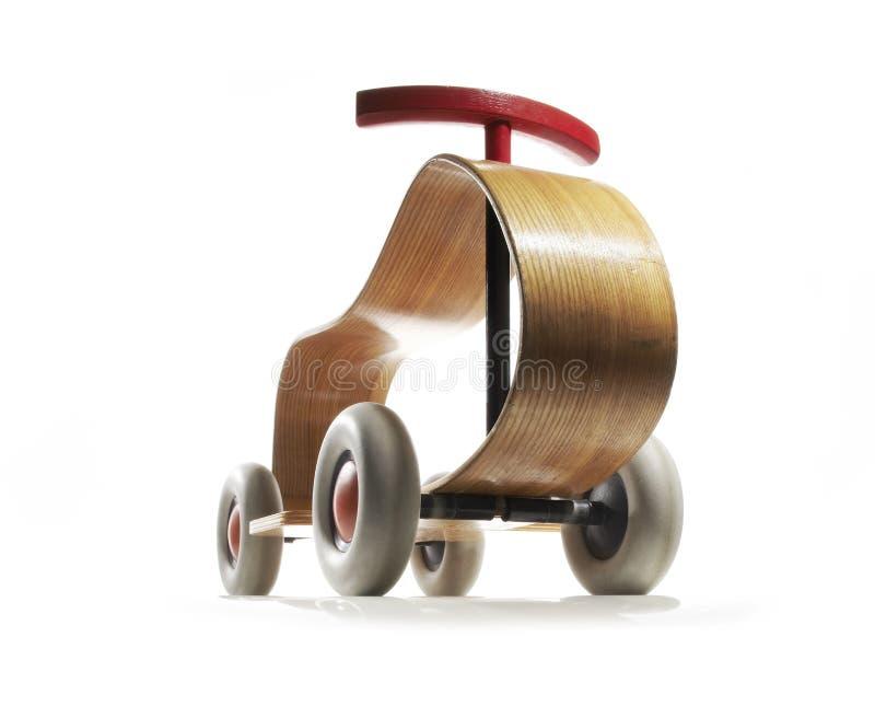Triciclo de madera del vintage imágenes de archivo libres de regalías