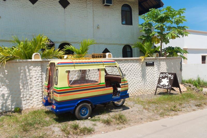 Triciclo filipino foto de stock