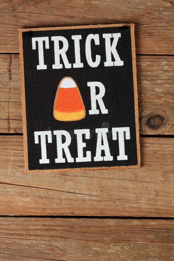 Free Trick Or Treat Royalty Free Stock Photography - 58825347