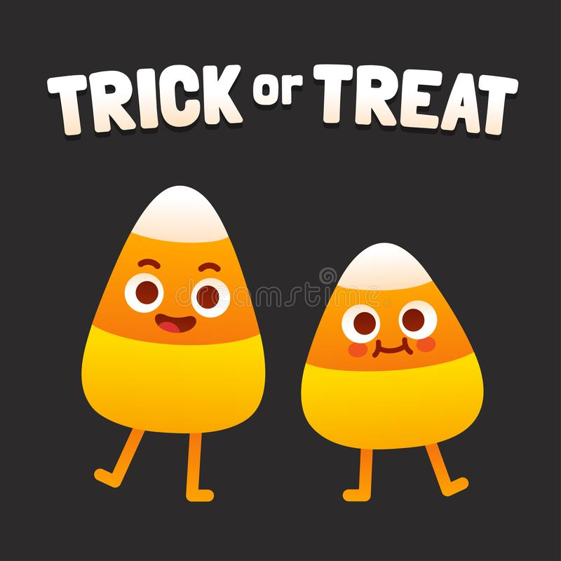 Free Trick Or Treat Candy Corn Stock Images - 126946744