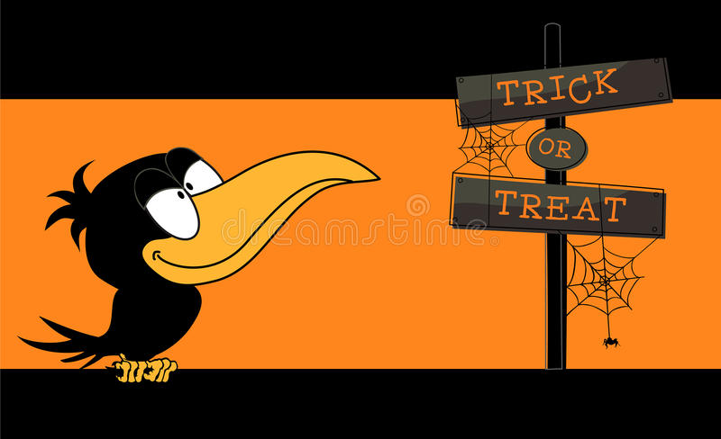 Download Trick or treat stock vector. Image of message, tradition - 15156024