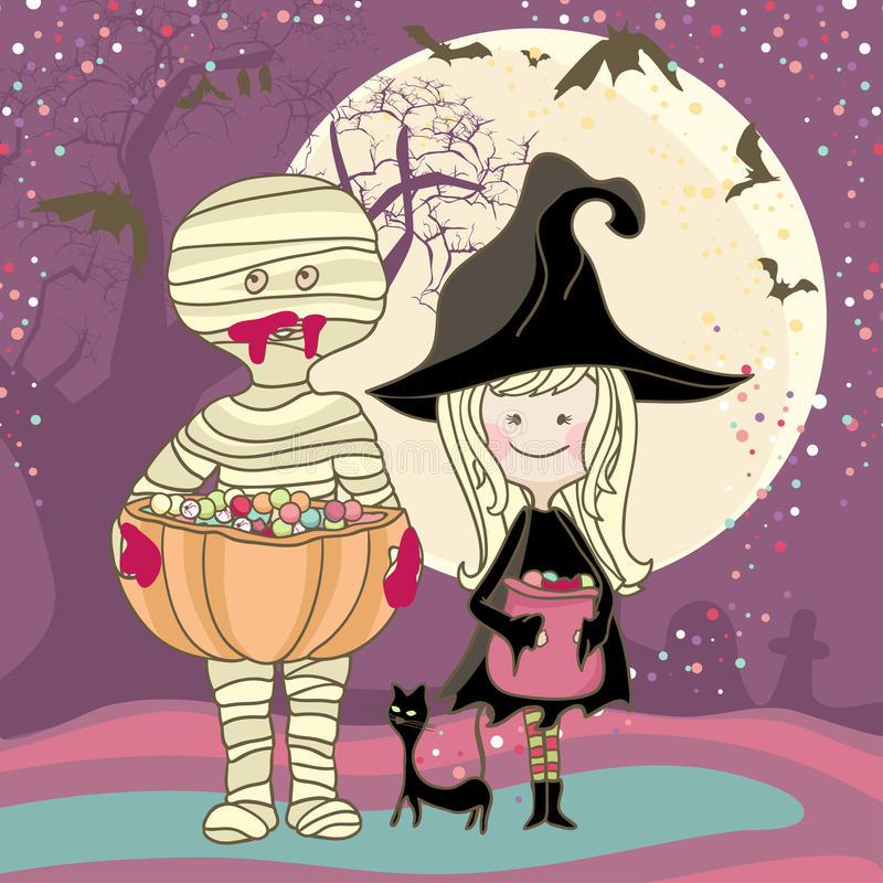 Download Trick or Treat stock vector. Image of mystery, cartoon - 27964073