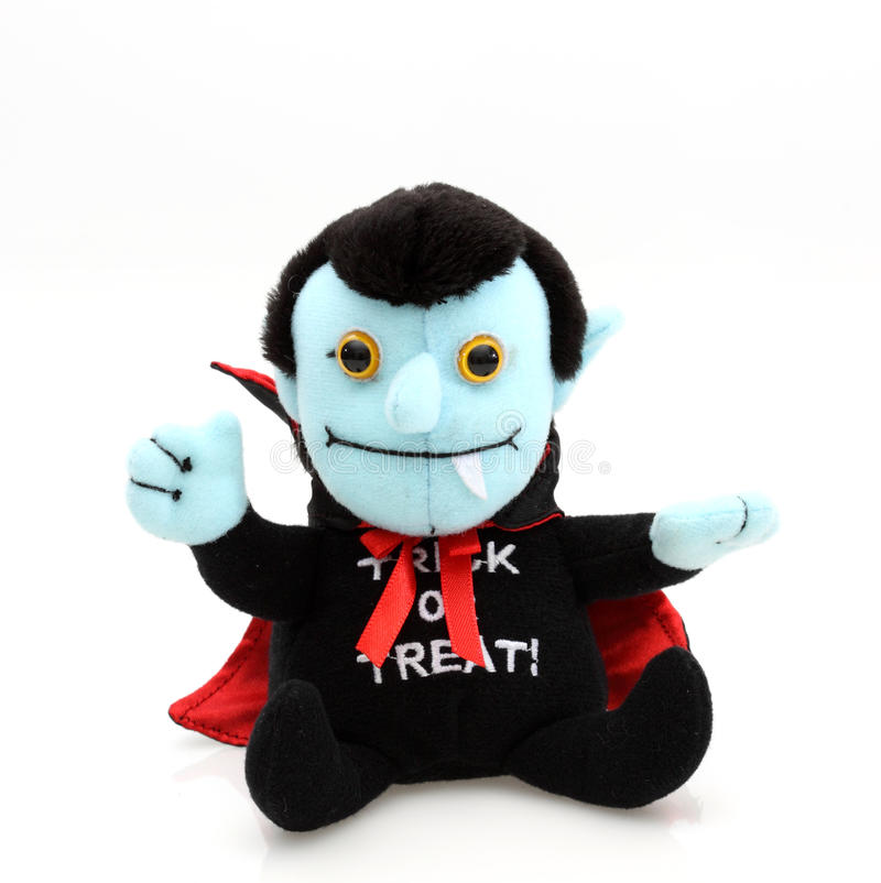 Trick or Treat Dracula Figure stock photo