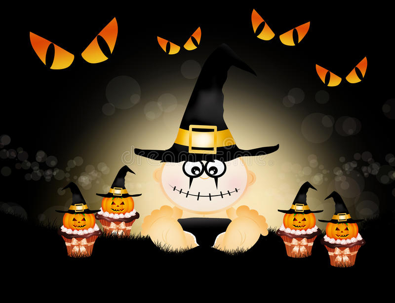 Download Trick or treat stock illustration. Illustration of humor - 32196085