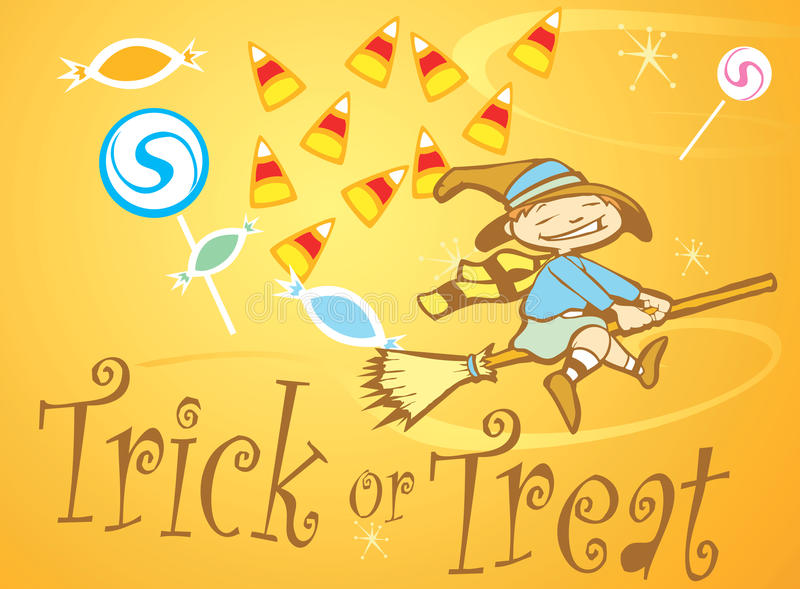Download Trick Or Treat Witch Royalty Free Stock Photos - Image: 11113138