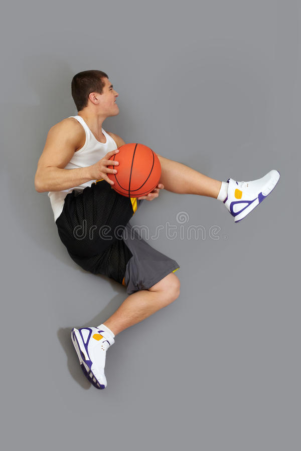 Download Tricky jump stock image. Image of basketball, muscular - 27379161