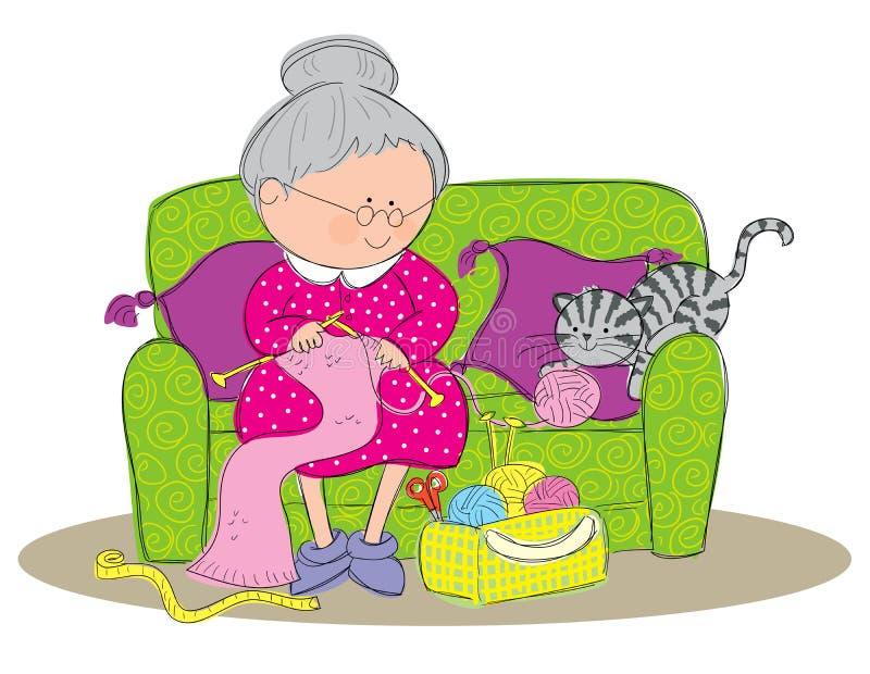 Tricotage illustration libre de droits