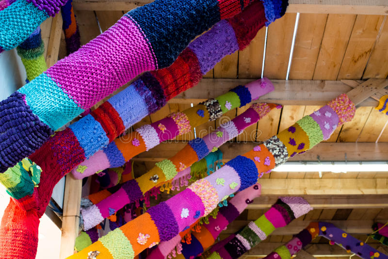 Tricotage de guérillero photo libre de droits
