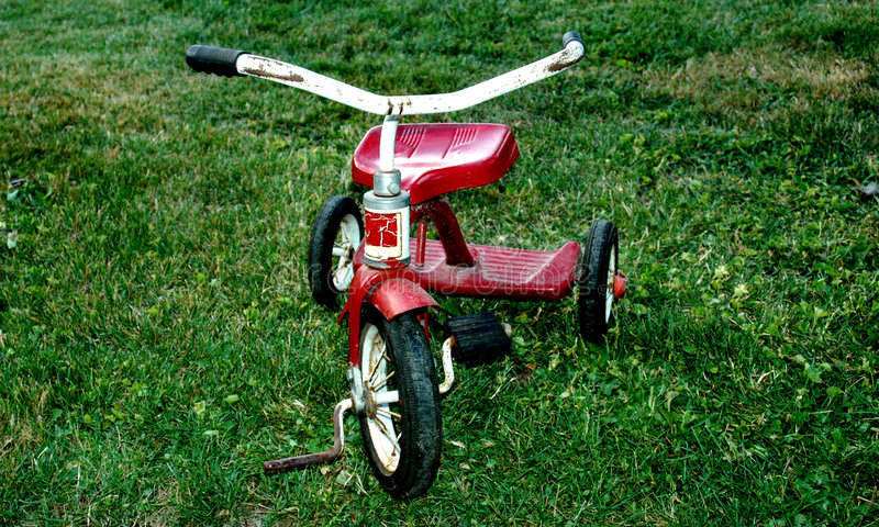 Tricycle royalty free stock image