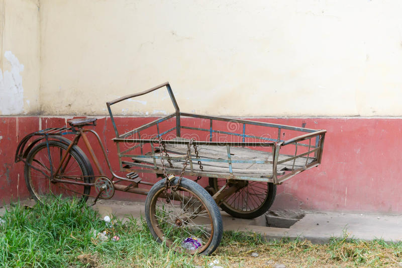 tricycle photo stock