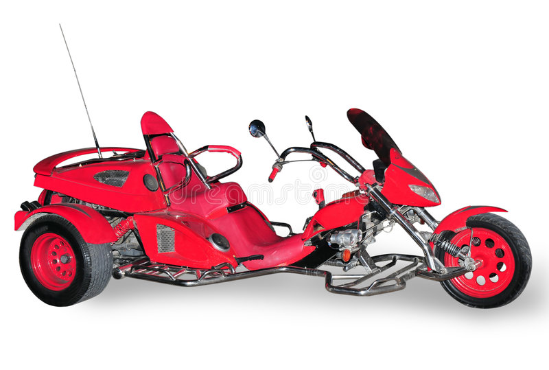 Tricycle cher de sports images stock