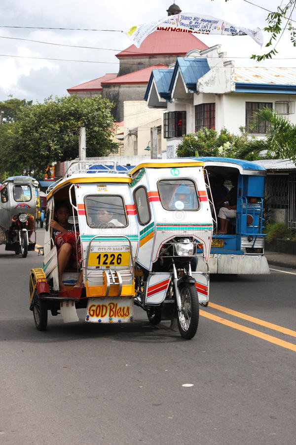 Free Tricycles In The Philippines Stock Photography - 19685542