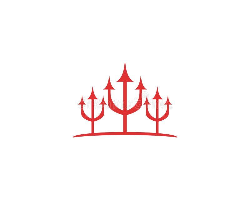 Trident Logo Stock Illustration Illustration Of Company 111941954