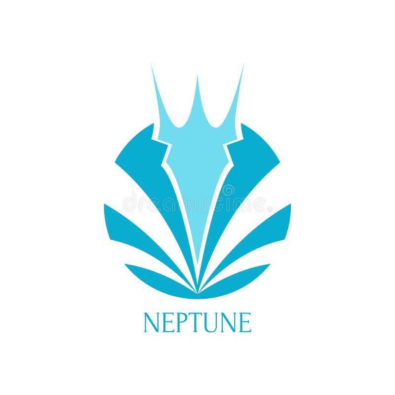 Trident Logo Template stock abbildung
