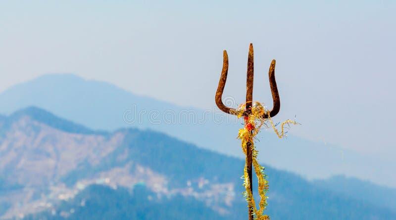Trident władyka Shiva zdjęcia royalty free